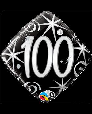 "100 Elegant Sparkles & Swirls 18"" (Minimo 3 Unid)"