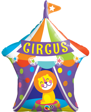 "Big Tops Circus Lion 36"" (Minimo 3 unid)"