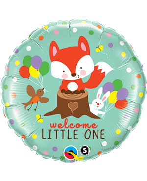 "Welcome Little Fox & Friends 18"" (Minimo 3 Unid)"