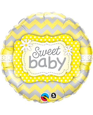 "Sweet Baby Yellow Patterns 18"" (Minimo 3 Unid)"