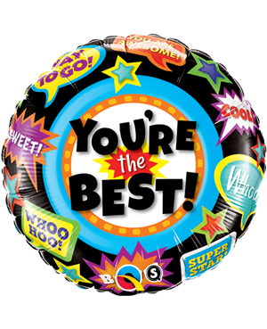 """You´re The Best Accolades 18"""" (Minimo 3 Unid)"""