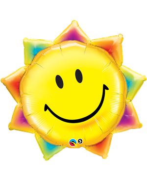 "Sunshine Smile Face 35"" (Minimo 3 Unid)"