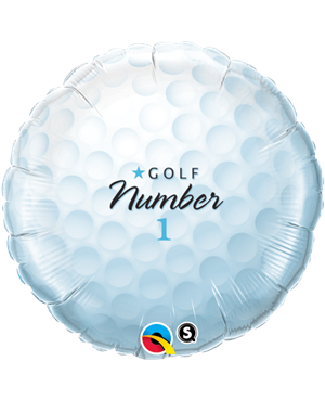 "Golf Ball - Number 1 18"" (Minimo 3 Unid)"