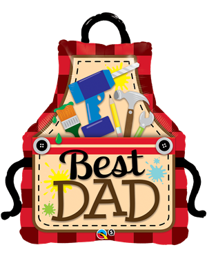 "Best Dad Apron 41"" (Minimo 3 Unid)"