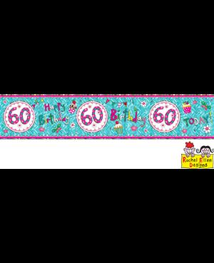 Rachel Ellen - Age 60 Perfect Pink