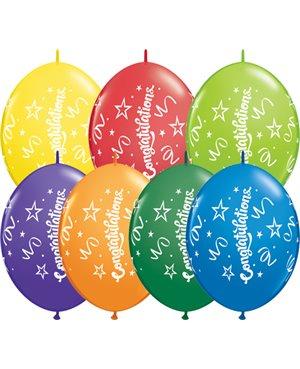 """Congratulations 12"""" Carnival Asst (50ct)"""