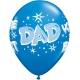"""Dad You ´Re The Best Starburst 11"""" Dark Blue 11"""" (06ct)"""