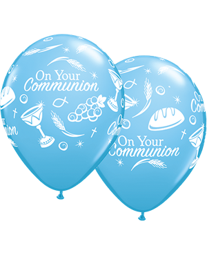 "Communion Symbols 11"" Pale Blue (25ct)"