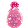 "Mr & Mrs 18"" Diamond Clear (25ct)"