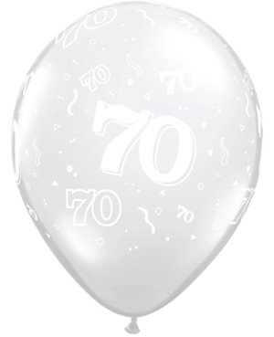 "70-A-Round 11"" Diamond Clear (50ct)"