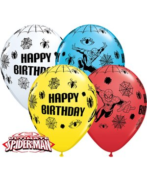 "Marvels Spider-Man Birthday 11"" (25ct)"