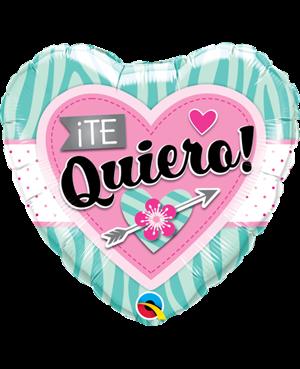 """Te Quiero Rayados 18"""" (Minimo 3 Unid)"""
