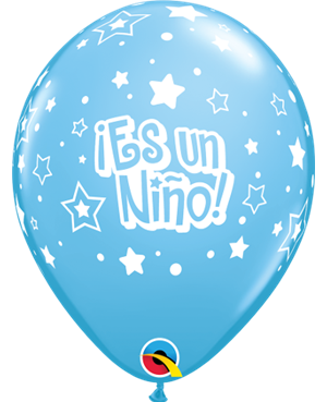 """Es Un Niño - Estrellas 11"""" (25unid)"""