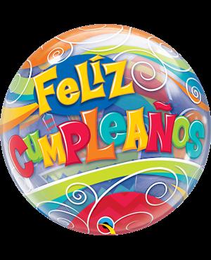 """Feliz Cumpleaños 22"""" (01ct) (Minimo 3 Unid)"""