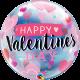 "Happy Valentine´s Arrows & Hearts 22"" (01ct) Minimo 3 unid"
