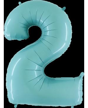 "Numero 2 Tono Pastel Celeste (01ct) 40"" (101cm)"