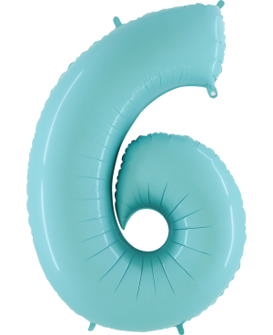 "Numero 6 Tono Pastel Celeste (01ct) 40"" (101cm)"