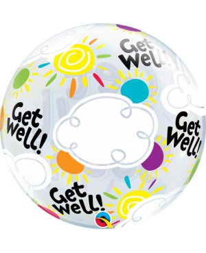 "Get Well Soon Sunny Day 22"" (Minimo 3Unid)"