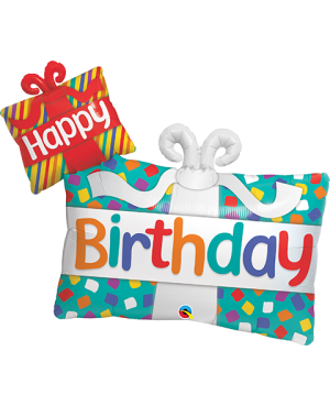 "Happy Birthaday Presents 39"" (Minimo 3 Unid)"