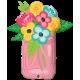 """Mason Jar Bouquet 36"""" (Minimo 3 Unid)"""