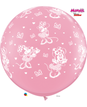 "Disney Minnie Mouse -a-Round 3"" (2ct) (Surtido Pink & Wild Berry)"