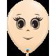 """Femenine face 16"""" Blus (50ct)"""