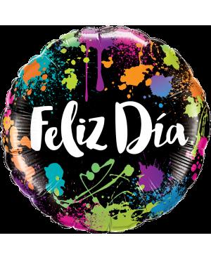 """18"""" Feliz Día (Minimo 3 Unid)"""