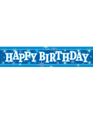 Happy Birthday Sparkle (Foil Banner) 2.6m 01ct