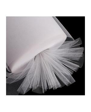 Tulle Blanco White 25 m *3 de Ancho