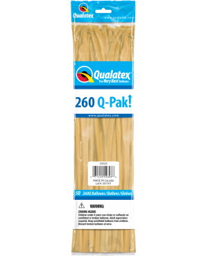 Q- Pack 260Q Gold (50 Unid)