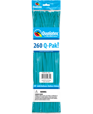 Q- Pack 260Q Tropical Teal (50 Unid)