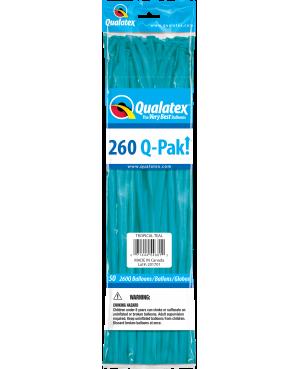 Q- Pack 260Q Tropical Teal (50 Unid)