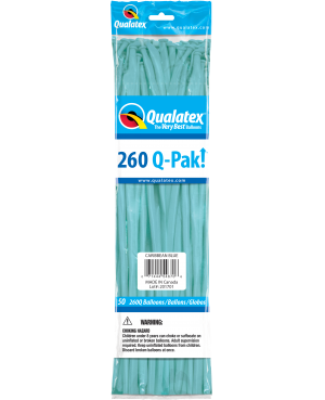 Q- Pack 260Q Caribbean Blue (50 Unid)