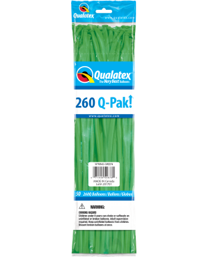 Q- Pack 260Q Spring Green (50 Unid)