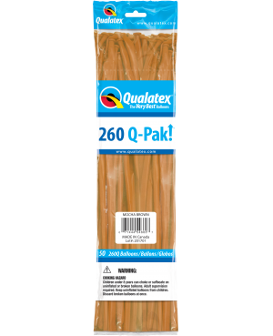 Q- Pack 260Q Mocha Brown (50 Unid)