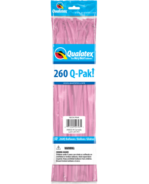 Q- Pack 260Q Neon Pink (50 Unid)