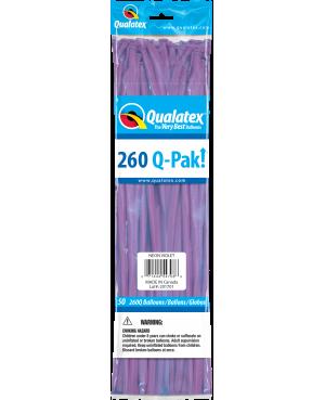 Q- Pack 260Q Neon Violet (50 Unid)