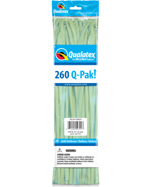 Q- Pack 260Q Neon Green (50 Unid)