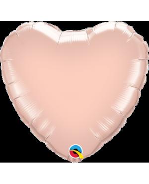 """Corazón Rose Gold (Disponibles en 9""""-20"""" -36"""")"""