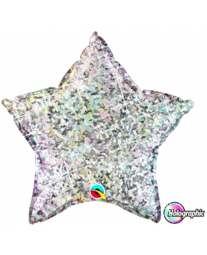 "Estrella Holographic Silver (Disponible en 9"" y en 20"" )"