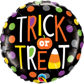"18"" Trick Or Treat Dots (Minimo 3 Unid)"