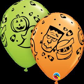 "11"" Halloween Fun ! (25unid)"