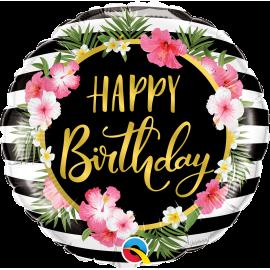 "18"" Birthday Hibiscus Stirpes (Minimo 3 unid)"
