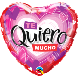 "18"" Te Quiero Mucho (Minimo 3 Unid )"