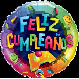 "18"" Feliz Cumpleaños Game (Minimo 3 Unid)"
