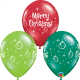 """Merry Christmas Ornaments 11"""" (25ct)"""