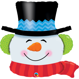 """Smilin Snowman 36"""" (Minimo 3 Unid)"""