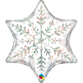 "36"" DazzLing Snowflake (Minimo 3 Unid)"