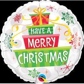 "Christmas Gifts & Snowflakes 18"" (Minimo 3 Unid)"