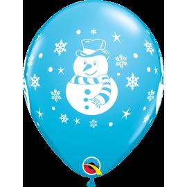 "Snowman, Penguin, & Santa Assorment 11"" (25ct )"